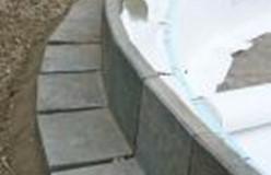 Kunststof Terrastegels 50x50.Kunststof L Keerwand Bokes Recycling Producten